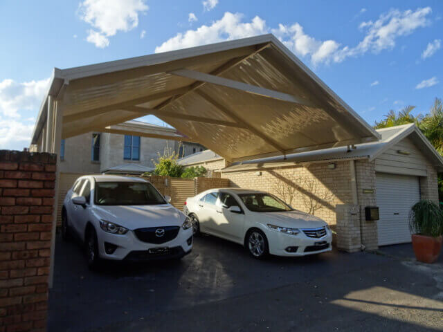 Gable Double Carport