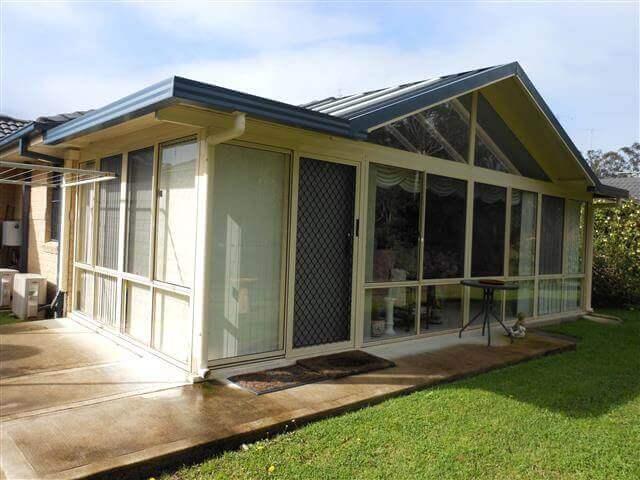 Gable Glass Enclosed Room DSCN0429